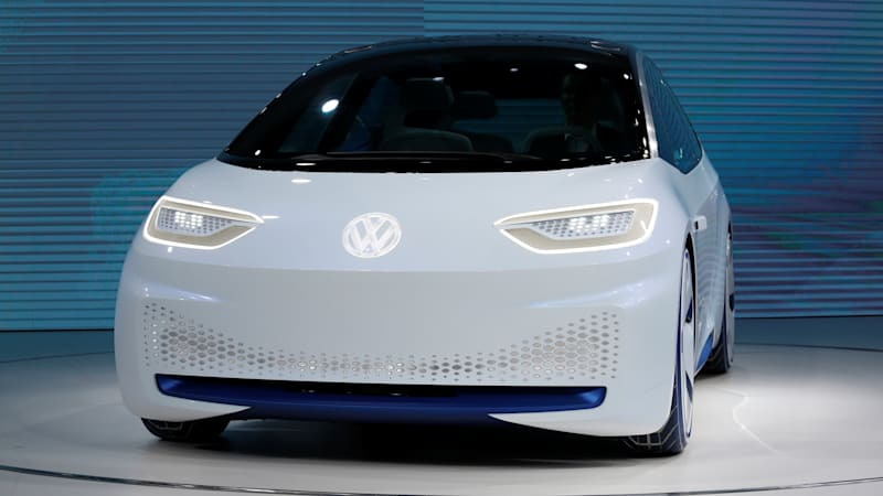 photo image VW says I.D. electric's price will undercut Tesla Model 3 by $7K-8K