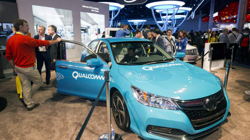 Qualcomm demos how electric vehicles can be wirelessly charged while driving