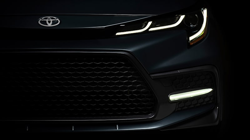 2020 Toyota Corolla sedan to be unveiled this week