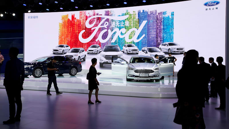 Ford China sales slump in February — by 30 percent year-over-year