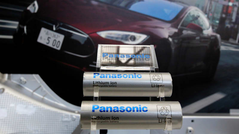 Panasonic shares plunge as Tesla buys ultracapacitor maker