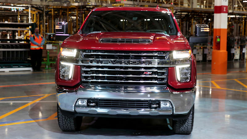 Trucks lead the way forward for big Detroit automakers