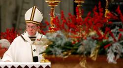 BLOGUE À propos de l'homélie de Noël du pape