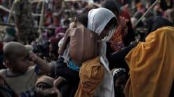 480 000 réfugiés rohingyas passés de la Birmanie au Bangladesh depuis fin