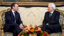 Après les tensions, Macron et le président italien