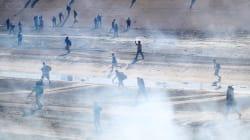 FOTOS Y VIDEOS: Patrulla Fronteriza lanza gas lacrimógeno para detener a