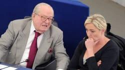 Marine Le Pen exclut la présence de son père aux