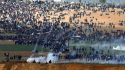 12 palestinos muertos y más de mil heridos en incidentes en la frontera de