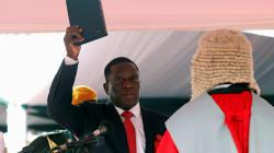 Thousands Celebrate As New Mnangagwa Sworn In As Zimbabwe's New
