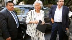 Olga Sánchez Cordero revira: 'perdonar es muy difícil para