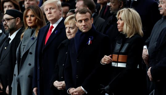 World Leaders Gather In Paris To Commemorate 100-Year Anniversary Of WWI