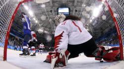 Hockey féminin: le Canada s'incline en tirs de barrage devant les