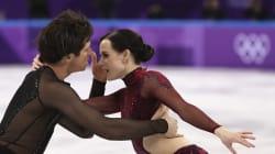 Les patineurs artistiques Tessa Virtue et Scott Moir ont déjà été en
