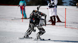 WATCH: Skiing Robots Have Arrived And They Come In