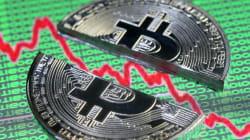 ビットコイン、ついに暴落 イーサリアムなど他の仮想通貨も軒並み値を下げる