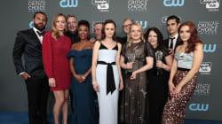 El negro de los Golden Globes quedó en el olvido de los Critics' Choice