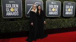 La inesperada acompañante de Meryl Streep a los Golden