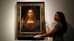 Une toile de Léonard de Vinci adjugée pour 450 millions
