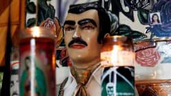 """El santo de los narcos, Jesús Malverde, """"apareció"""" en el juicio contra el"""