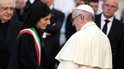 La preghiera di Francesco alla Madonna per i romani: