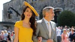 Ecco perché l'outfit di Amal Clooney alle nozze reali è costato oltre 500mila