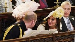 Kate (in abito Alexander McQueen) molto defilata. Non ruba la scena e