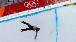Swiss Skier Joel Gisler Plunges 15 Feet In Brutal Crash During Olympic