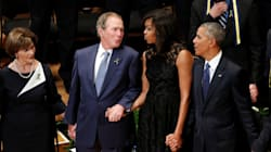 George W. Bush Slipped Michelle Obama Some Candy At John McCain's