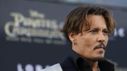 Johnny Depp et Amber Heard invités le même jour au