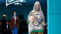 La mode perd la tête au défilé Gucci à