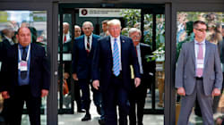Donald Trump Departs G7 For 'Mission Of Peace' Meeting With Kim Jong Un In