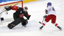 La République tchèque surprend le Canada 3-2 en tirs de