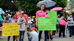 El caos que el sismo dejó en Chiapas no