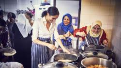 En su primer trabajo 'real', Meghan Markle impulsa la cocina