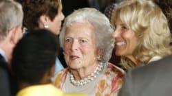 Décès de l'ancienne première dame Barbara