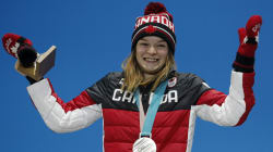 La patineuse de vitesse courte piste Kim Boutin portera le drapeau du