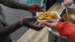 Le gouvernement va distribuer 350 repas par jour aux migrants de