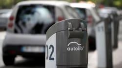 Certaines bornes de recharge Autolib seront accessibles aux particuliers pour 10€ par