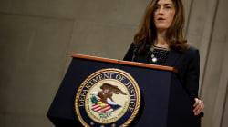 Aux États-Unis, la numéro 3 du ministère de la Justice