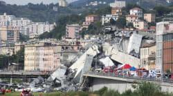 イタリアのジェノバで高架橋が崩落、死者は26人 車多数巻き添え
