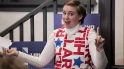 Lena Dunham aurait averti l'équipe d'Hillary Clinton à propos d'Harvey