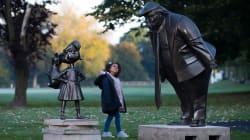 Matilda Statue Stares Down Donald Trump To Celebrate Book's 30th