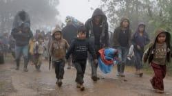 📷 El frío obliga a 5 mil desplazados de Chalchihuitán a regresar a