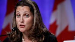 Le Canada impose des sanctions au