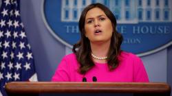 La porte-parole de la Maison-Blanche ébranlée par la question d'un
