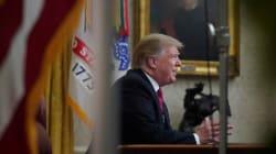 Trump apela a la 'crisis de seguridad nacional' para insistir en la construcción del