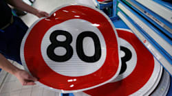 Les députés anti 80 km/h perdent leur recours en urgence contre la mesure de