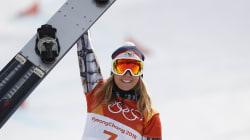Ester Ledecka a remporté l'or en snowboard et en