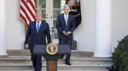 Trump n'a pas eu à chercher bien loin pour nommer le nouveau président de la