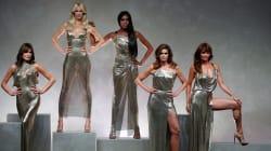 Versace reúne a las cinco 'top models' de los 90 para homenajear a